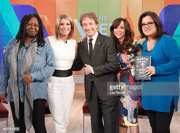 THE VIEW Cohost Rosie Perez returns to The View today Tuesday February 3 2015 Guests include Martin Short Randall Park and Hudson Yang The View airs...