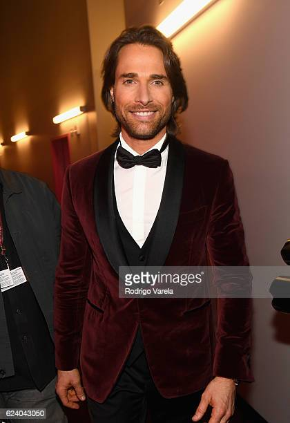 Cohost Sebastian Rulli attends The 17th Annual Latin Grammy Awards at TMobile Arena on November 17 2016 in Las Vegas Nevada