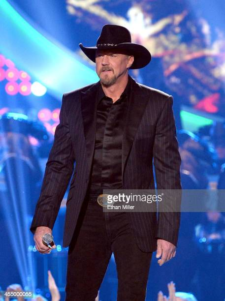 Cohost Trace Adkins performs onstage during the American Country Awards 2013 at the Mandalay Bay Events Center on December 10 2013 in Las Vegas Nevada