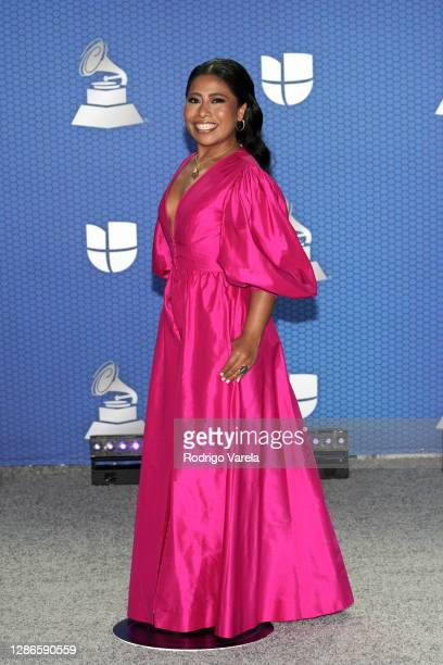 Co-host Yalitza Aparicio attends The 21st Annual Latin GRAMMY Awards at American Airlines Arena on November 19, 2020 in Miami, Florida.