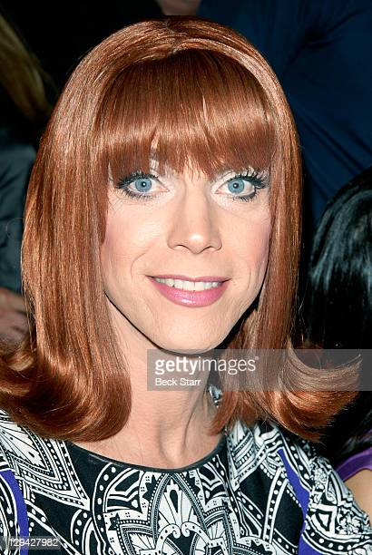 """Co-host/entertainer Coco Peru attends Kat Kramer's Films That Change The World, """"Teach Your Children Well"""" Premiere at Sunset Gower Studios on..."""