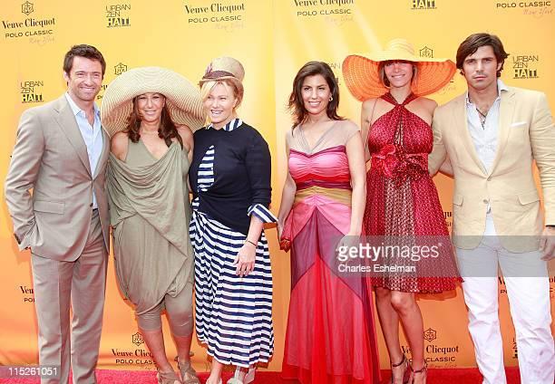 Cohosts Hugh Jackman and Donna Karan with DeborraLee Furness Vanessa Kay President Veuve Clicquot Delfina Blaquier and Nacho Figueras attend the...