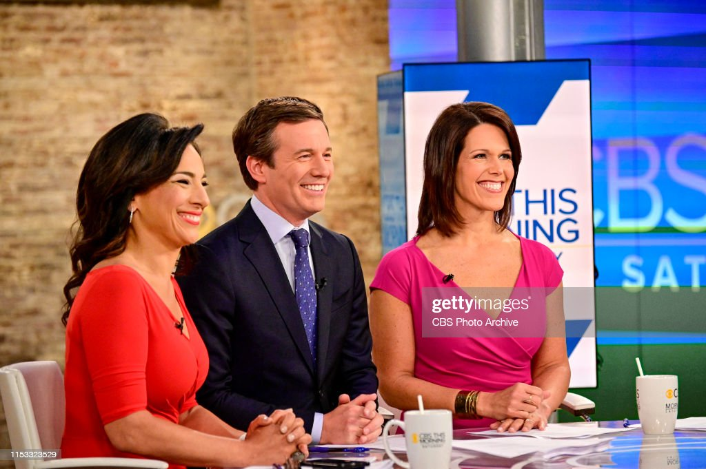 CBS This Morning: Saturday : News Photo