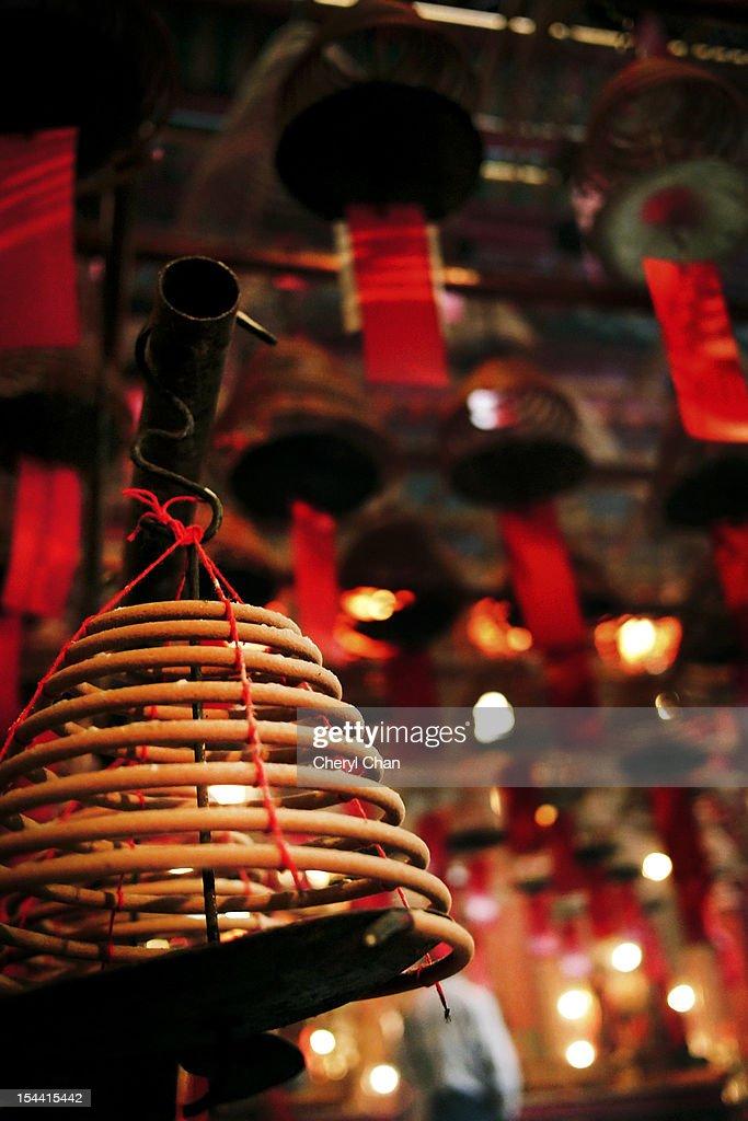 coil incense : Stock Photo