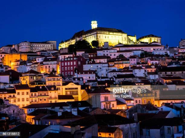 Coimbra city view with evening Light