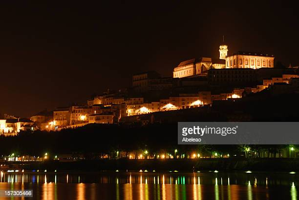 Coimbra night view.