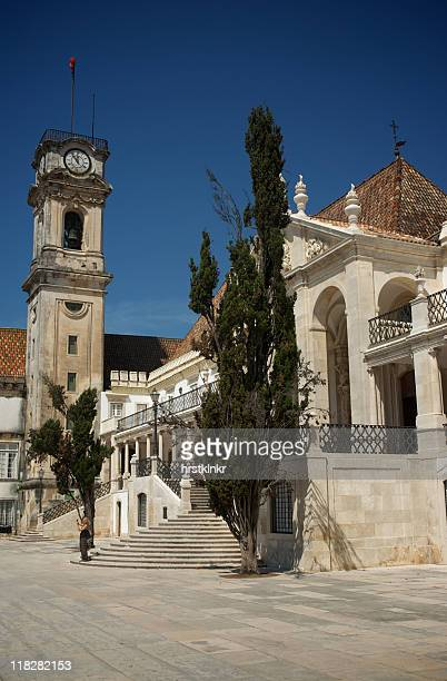 coimbra university, universidad, portugal - universidad stock pictures, royalty-free photos & images