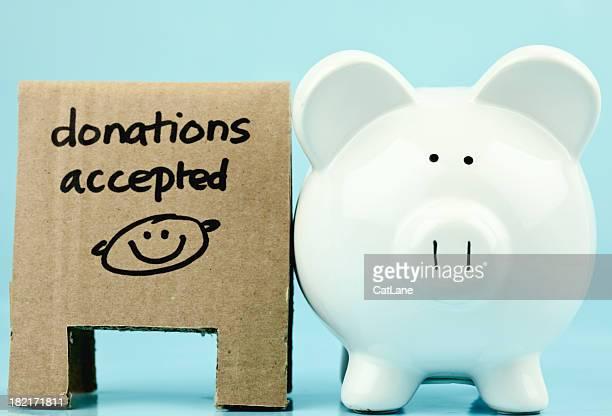 Moeda de banco de caridade