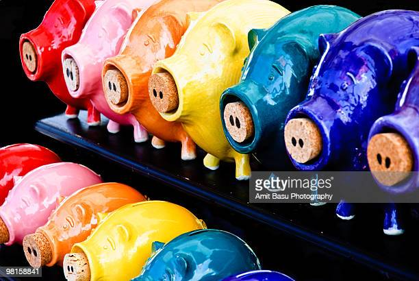 coin banks - amit basu stock pictures, royalty-free photos & images
