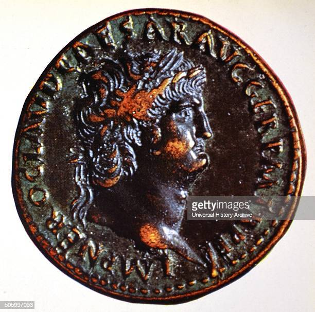 Coin depicting Nero A spendthrift despotic playboy murdered his mother wife and many leading Romans sought a reputation as performer His crimes...