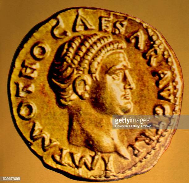Coin depicting Otho Proclaimed by the Prasetorians was emperor from January to April When his army was defeated by legions from Germany under...