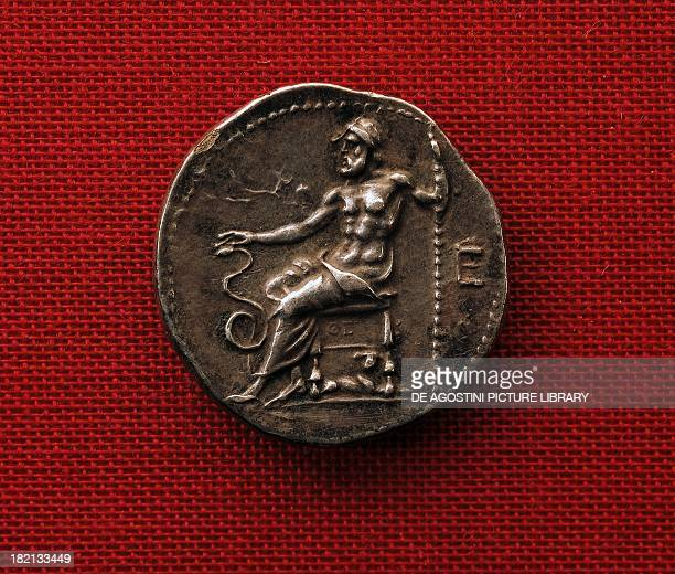 Coin of Epidaurus depicting Asclepius Greek coins Monaco Staatliche Munzsammlung