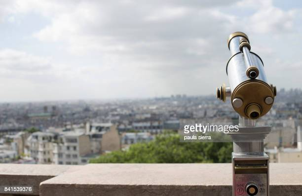 Coin operated Telescope at Sacré-Coeur, Montmartre