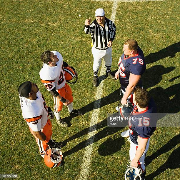 coin toss - flipping a coin stock pictures, royalty-free photos & images