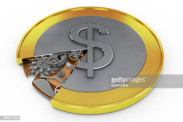 Coin with Mechanism Inside