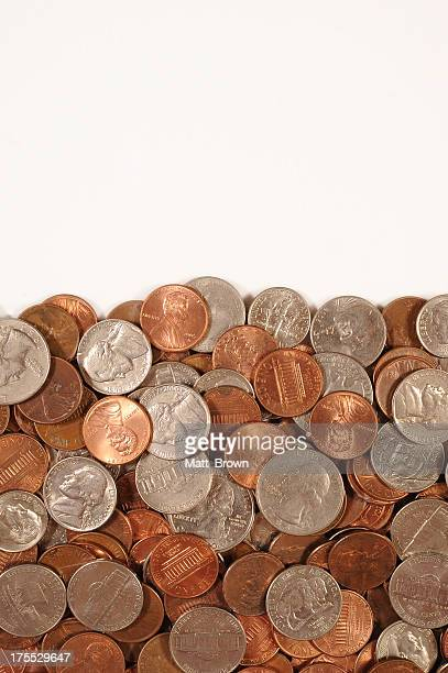u.s. coins bottom border - dime stock pictures, royalty-free photos & images