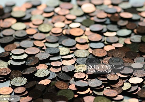 Coins, full frame