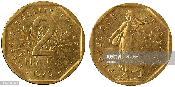 Coins Macro - 2 French Francs