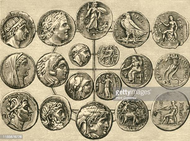 Coins of the Macedonian Sovereigns of Syria and Egypt' 1890 Macedonia dominant state of Hellenistic Greece expanded its' empire into Syria in c321 BC...