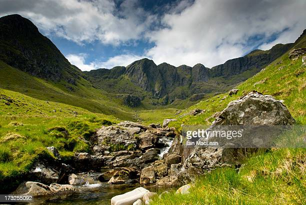 coire dhorrcail, knoydart, western highlands, scot - peninsula stock pictures, royalty-free photos & images
