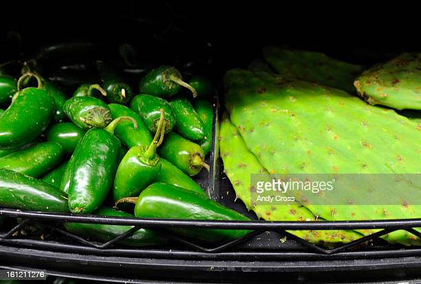 DENVER COJalapeno peppers left and cactus leaves top right in the newly remodeled King Soopers 2727 W Evans Tuesday afternoon Andy Cross The Denver...