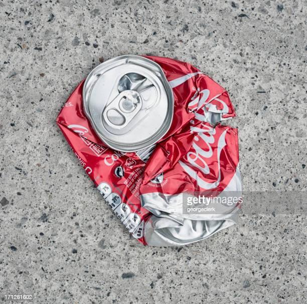 Coca-Cola peut litière