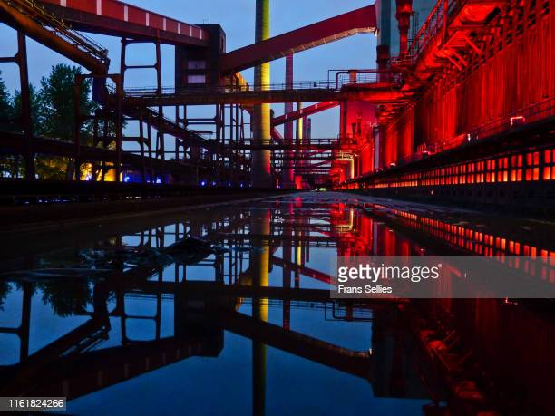 coke ovens, ruhr area, germany - north rhine westphalia stock pictures, royalty-free photos & images