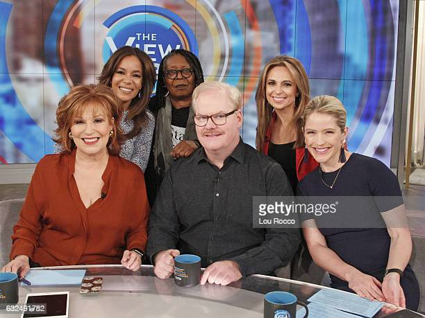 THE VIEW Cokie Roberts and Jim Gaffigan are the guests today Thursday January 19 2017 on Walt Disney Television via Getty Images's The View The View...