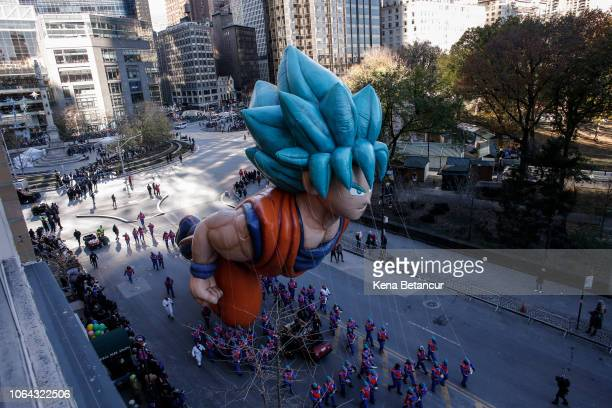 Coku balloon floats during the 92nd annual Macy's Thanksgiving Day Parade on November 22 2018 in New York City