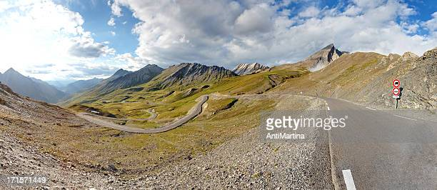 col agnel / colle dell'agnello - mountain pass stock pictures, royalty-free photos & images