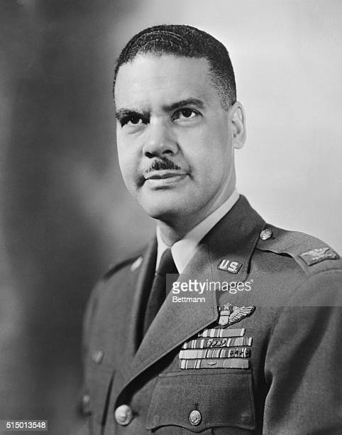 Col Benjamin Oliver Davis Jr son of the only Negro ever to attain the rank of general in the army was appointed yesterday as the first Negro general...
