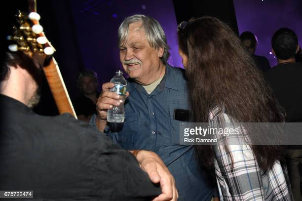 Col Bruce Hampton and his wife attend the 'Hampton 70 A Celebration Of Col Bruce Hampton' at The Fox Theatre on May 1 2017 in Atlanta Georgia