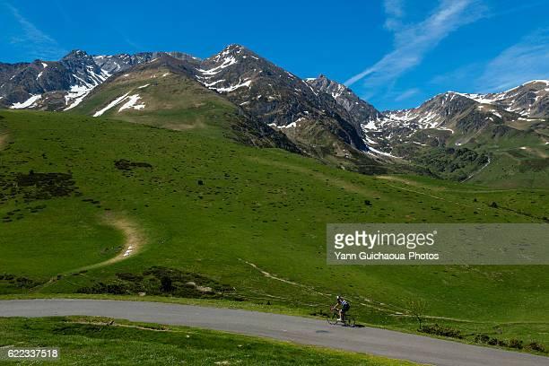 Col de Hourquette d Ancizan, national park of Pyrenees, Hautes Pyrenees, France