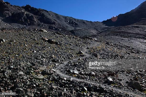 Col de la noire,  mountains landscape