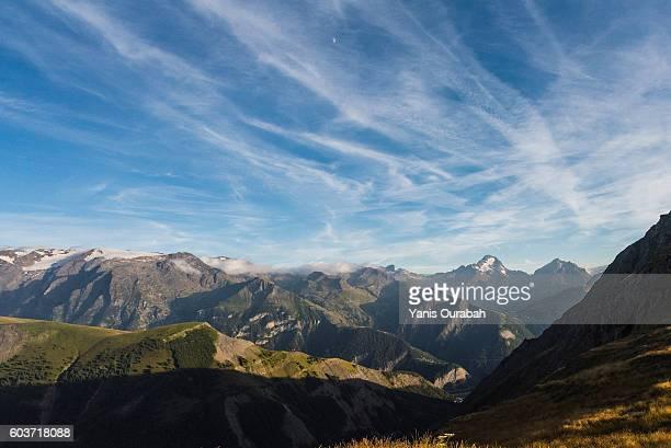 Col de la Sarenne : French Alps landscapes in summer