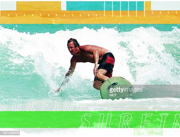 2 col x 325 in / 108x83 mm / 368x281 pixels Kurt Strazdins color photo illustration of a surfer riding the waves