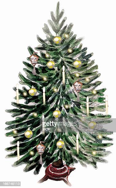 15 col x 46 in / 72x117 mm / 245x397 pixels Eeli Polli illustration of Christmas tree
