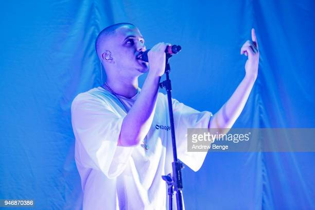 Col3trane performs live on stage at O2 Apollo Manchester on April 14, 2018 in Manchester, England.