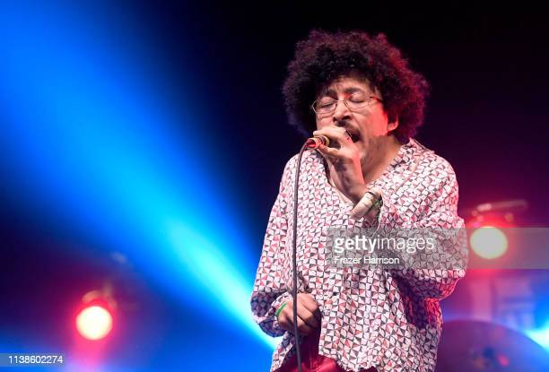 Cola Boyy performs at Sonora Stage during the 2019 Coachella Valley Music And Arts Festival on April 21, 2019 in Indio, California.