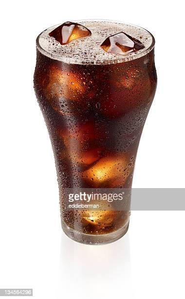 cola in a glass - pepsi stock pictures, royalty-free photos & images