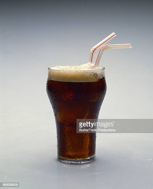 Cola in classic glass