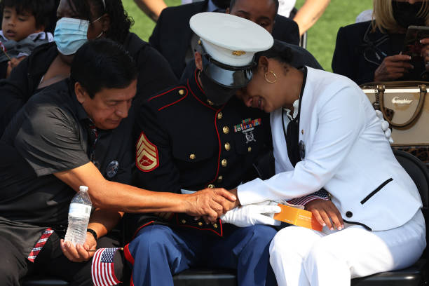 MA: Public Funeral Held In Massachusetts For Marine Killed In Afghanistan Bombing