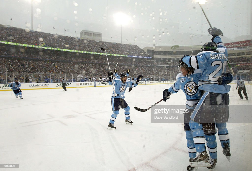 NHL Winter Classic: Pittsburgh Penguins v Buffalo Sabres : News Photo