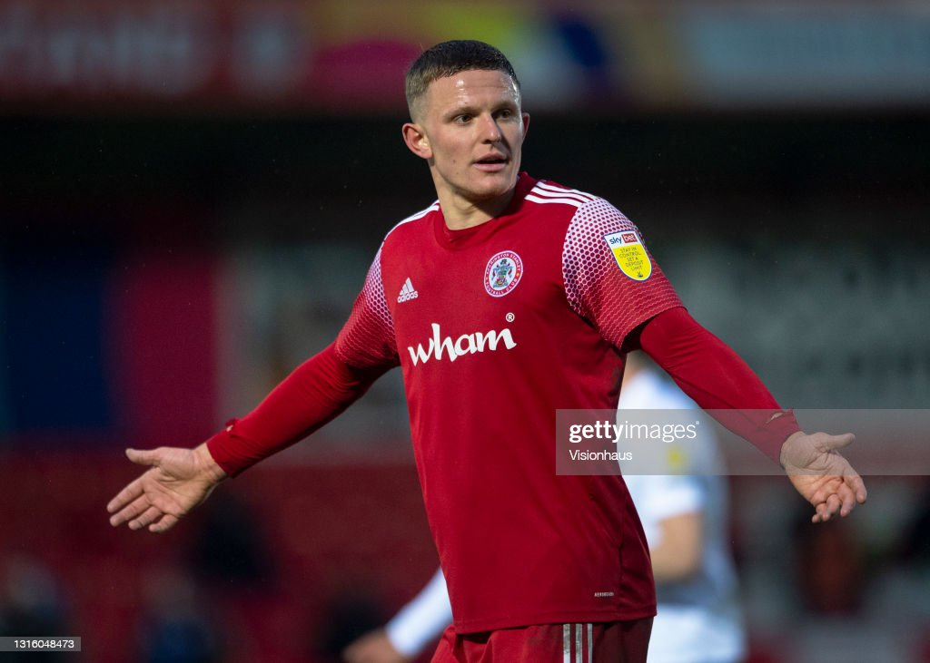 Colby Bishop of Accrington Stanley during the Sky Bet League One... News  Photo - Getty Images