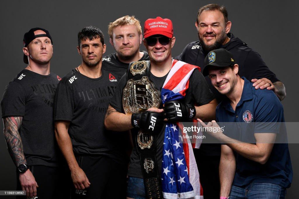 UFC Fight Night: Covington v Lawler : News Photo