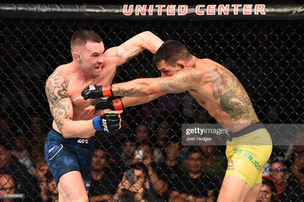 UFC 225: Dos Anjos v Covington : News Photo