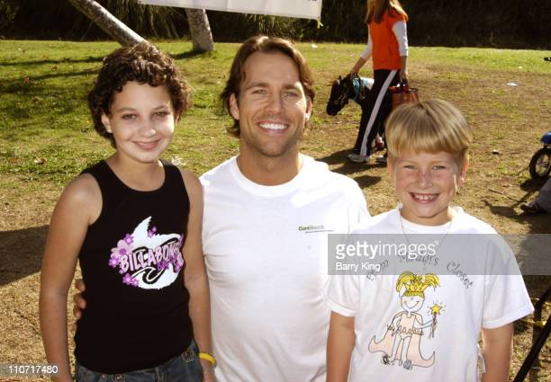 Colby Donaldson and guests during 4th Annual Dogwalk to Fund Curesearch National Childhood Cancer Foundation at Temescal Canyon Park in Pacific...