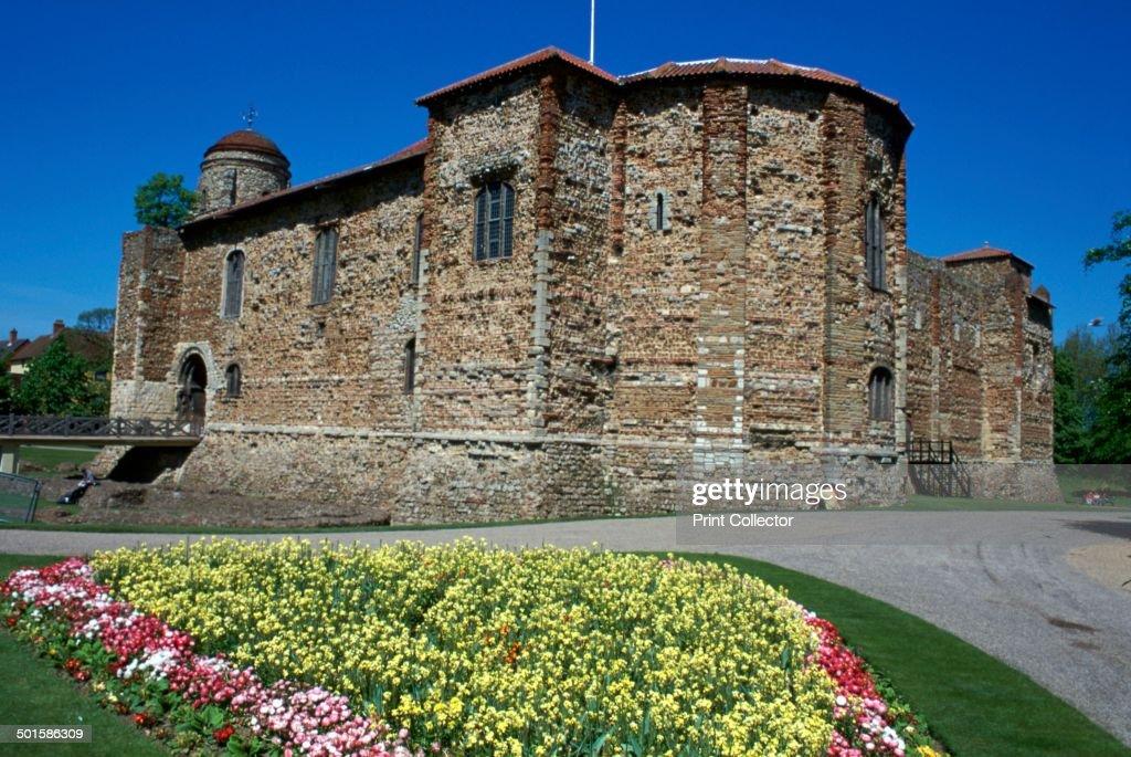Colchester Castle, 1st century. : News Photo