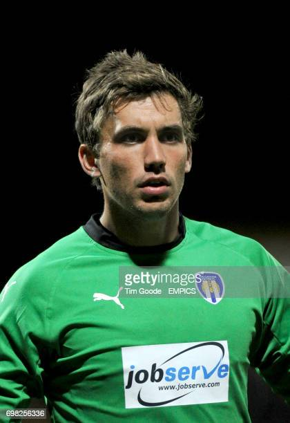 Colchester United goalkeeper Sam Walker