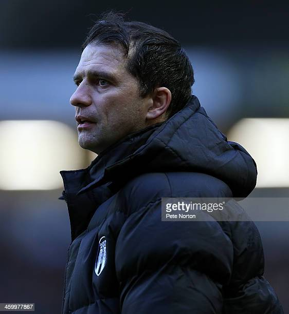 Colchester United manager Joe Dunne looks on during the Sky Bet League One match between Milton Keynes Dons and Colchester United at Stadium MK on...